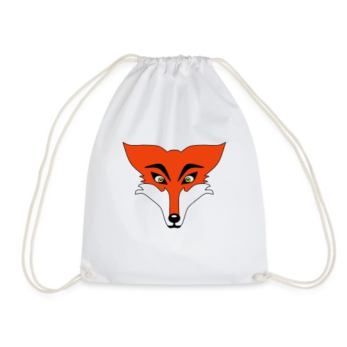 Renard Orange Cartoon - Sac de sport léger