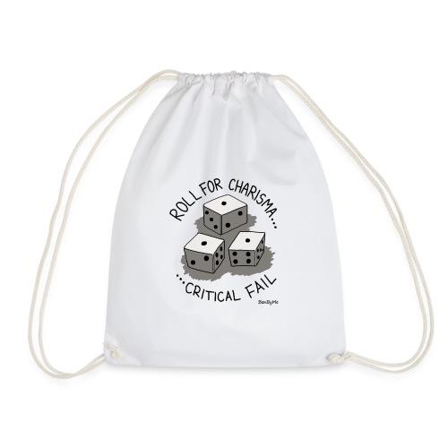 Critical Fail - Drawstring Bag