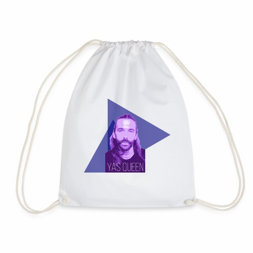 Johnathan Van Ness says YAS QUEEN - Drawstring Bag