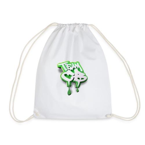 TEAMCB GREEN edited - Drawstring Bag