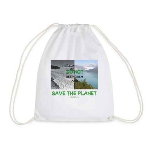 Save the planet - Sac de sport léger