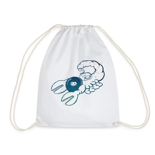 Space Scorpions?! (Stars) - Drawstring Bag