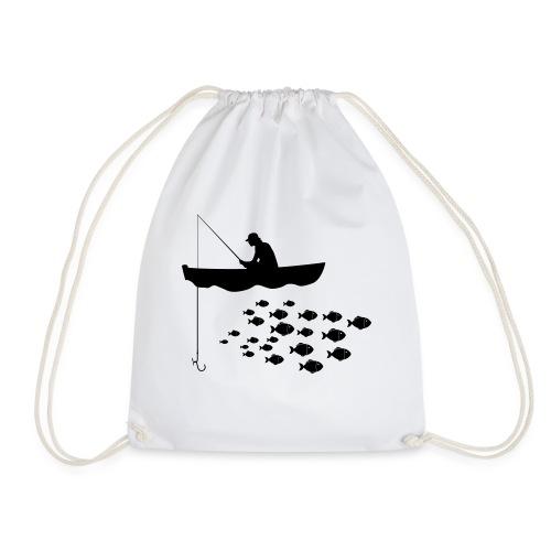 Lonly Fisherman - Drawstring Bag