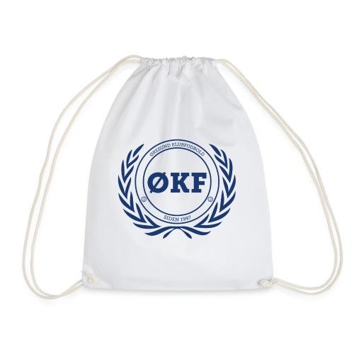 ØKF blå logo - Sportstaske