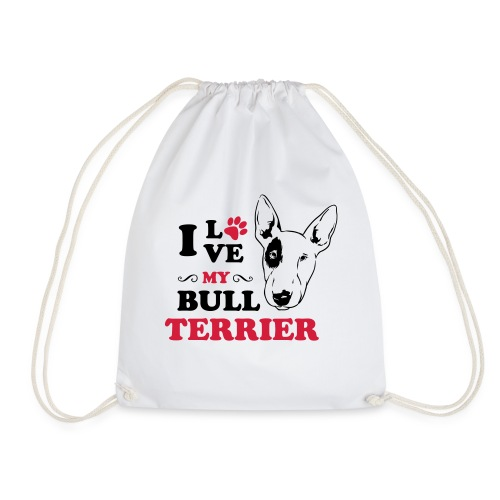 I love my Pitbull Terrier - Turnbeutel
