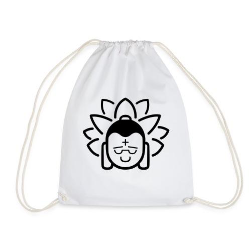 Boeddha hoofd blad - Gymtas