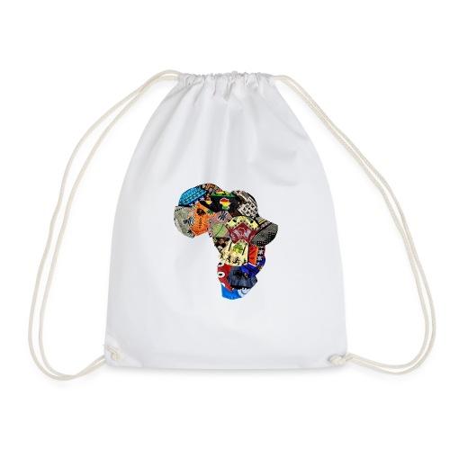 Afrique en Wax (Impression) - Sac de sport léger