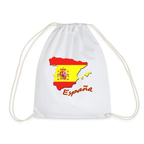 espana flag - Drawstring Bag