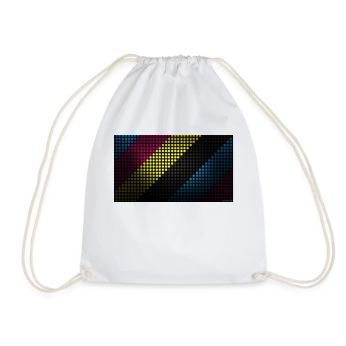 techno_dots_y_t_f-jpg - Drawstring Bag
