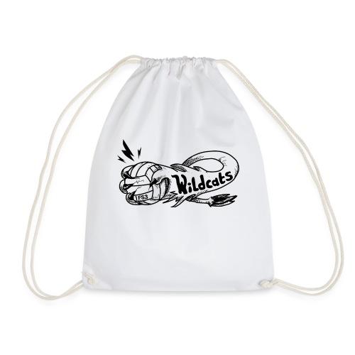 Wildcats Logo - Turnbeutel