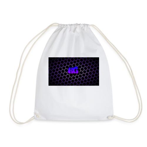 Purple Koala Gaming jpg - Drawstring Bag