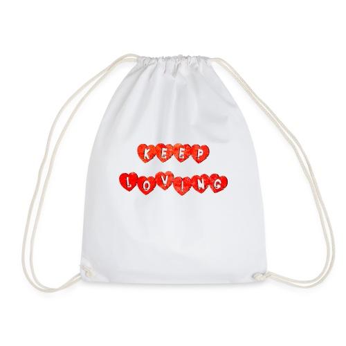 Keep Loving - Mochila saco