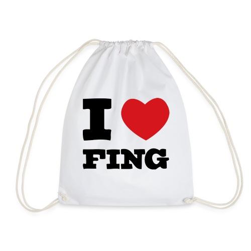 I Love FIng - Gymnastikpåse