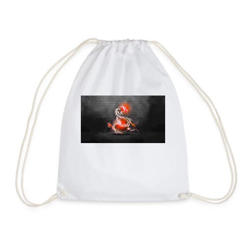 dark dragons jpg - Drawstring Bag