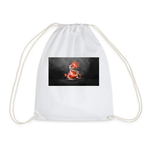 dark dragons jpg - Drawstring Bag