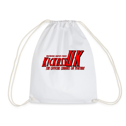 New 2016 KickassUK Mens T-Shirts - Drawstring Bag