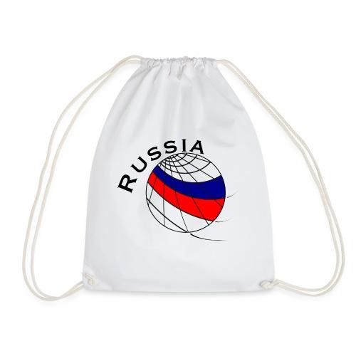 Russland Fußballmotiv - Drawstring Bag
