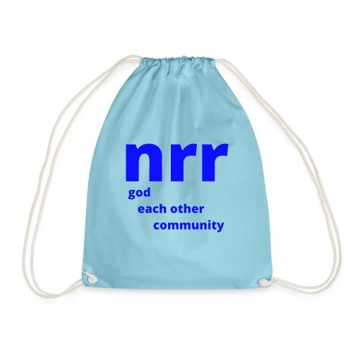 NEARER logo - Drawstring Bag