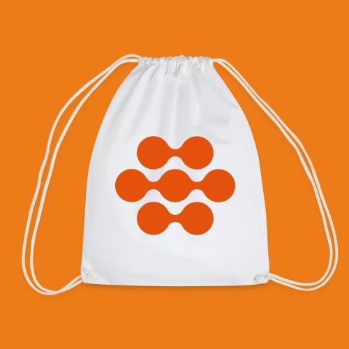 seed madagascar logo squa - Drawstring Bag
