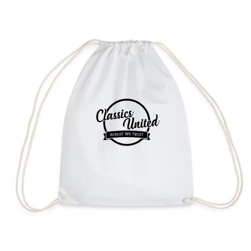 retro logo.png - Drawstring Bag