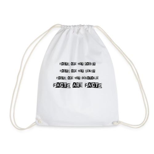 Facts Shirt - Drawstring Bag