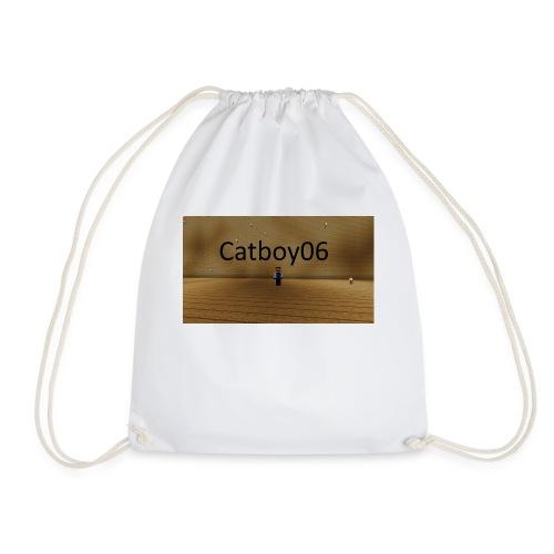 Catboy06 skin med skrift - Gymbag