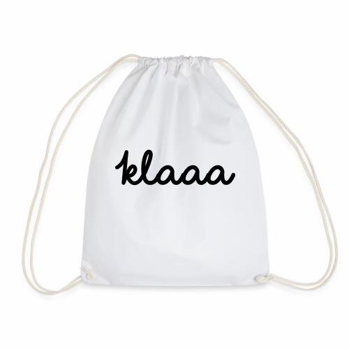 Klaaa - T-Shirt - Turnbeutel