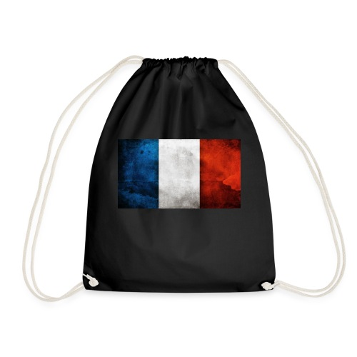 France Flag - Drawstring Bag
