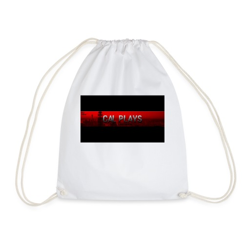 Cal Plays merchandise - Drawstring Bag