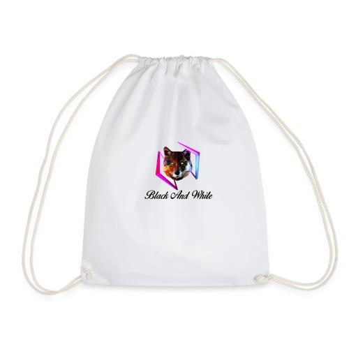 Logo Black And White Centrale - Sacca sportiva