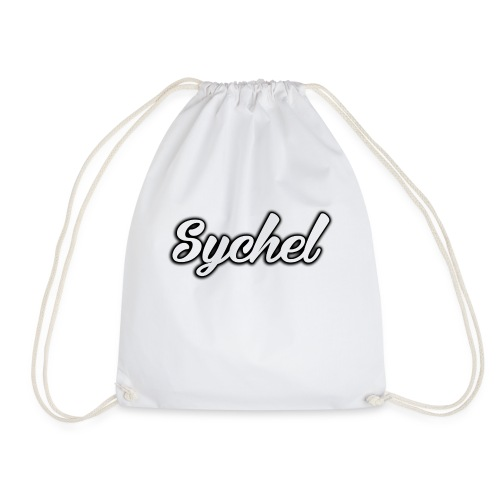 Sychel Handwriting Logo - Drawstring Bag