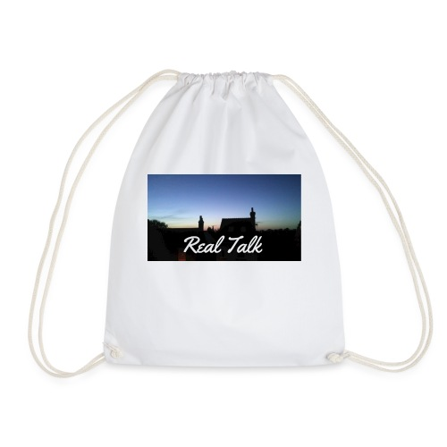 Real Talk - Drawstring Bag