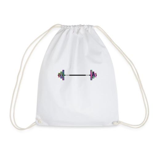 Galacksy Barbell - Drawstring Bag