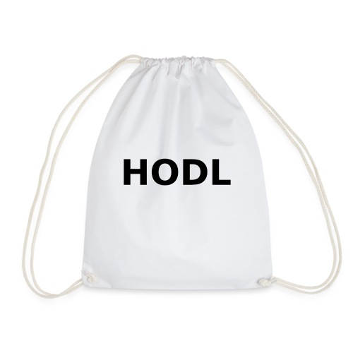 HODL Black - Drawstring Bag
