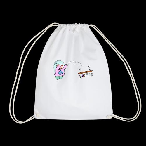 TABLEFLIP OWO (╯ ° □ °) ╯( ┻┻ - Drawstring Bag