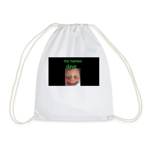 Dave merchandise - Drawstring Bag