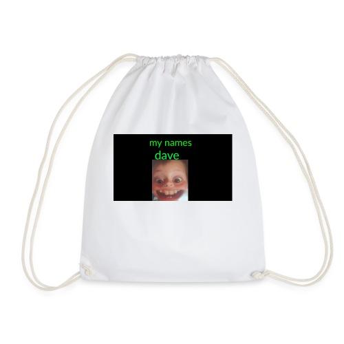 Dave merchandise - Drawstring Bag