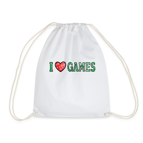 I Love Games - Worek gimnastyczny