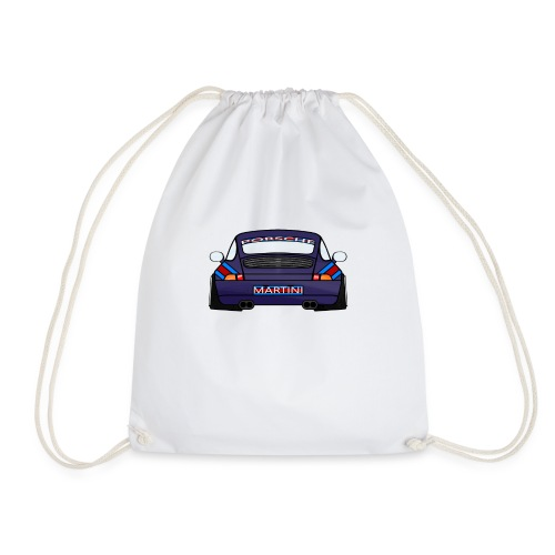 Magenta maritini Sports Car - Drawstring Bag