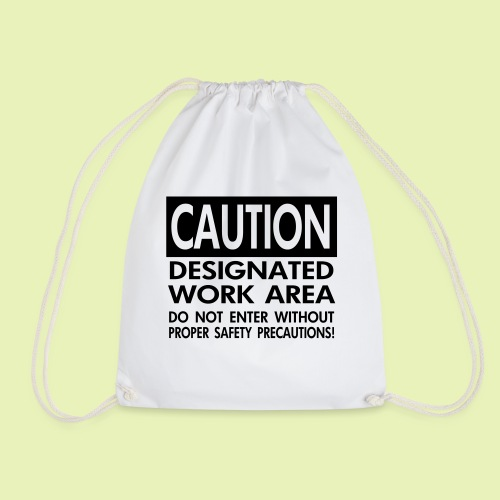 Caution work area - Gymtas