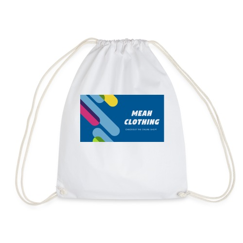 MEAH CLOTHING LOGO - Drawstring Bag