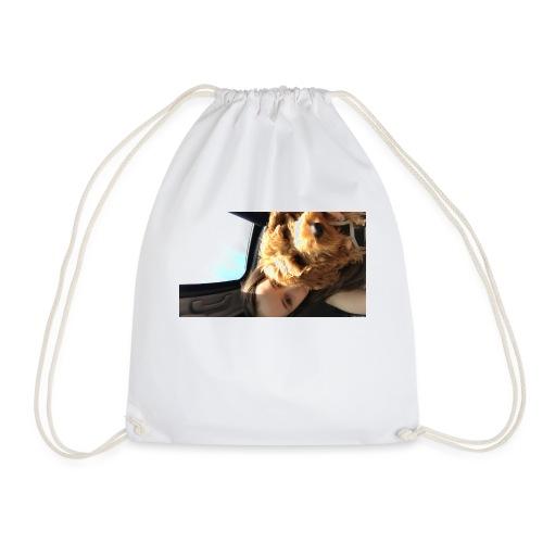Teddy+Lauren= Happiness - Drawstring Bag