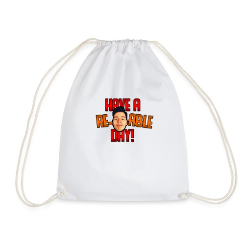 Re-Marc-Able Day - Drawstring Bag