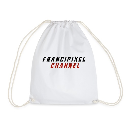 Francipixel CHANNEL - BLACK/RED - Sacca sportiva