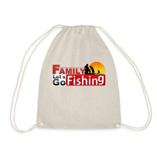 FAMILY LET´S GO FISHING FONDO - Mochila saco