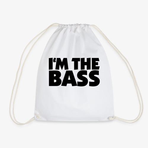 I'm the Bass 2 für Bassisten und Tieftöner - Turnbeutel
