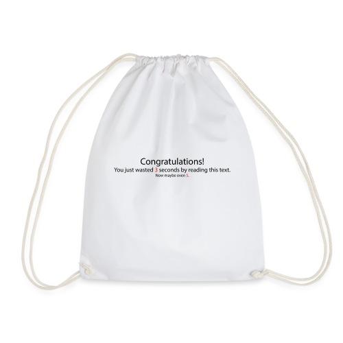 Congratulations - Turnbeutel