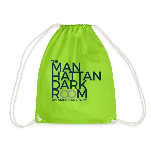 THE MANHATTAN DARKROOM BLEU GRIS - Sac de sport léger