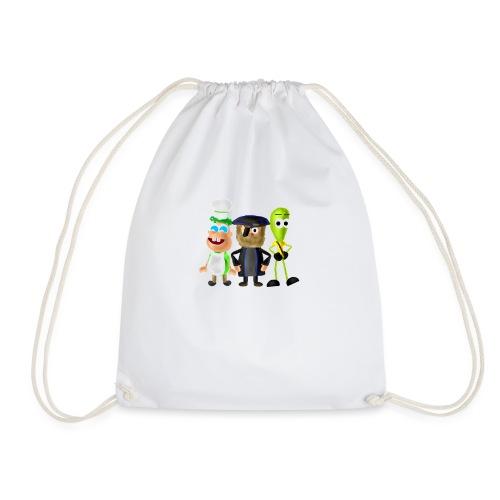 BombStory - Main Characters - Drawstring Bag