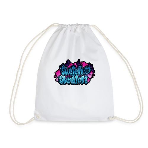 Sketch & Skratch logo hoodie - Sportstaske